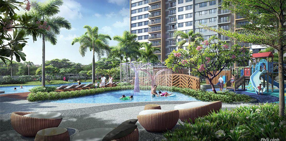 phương vị mua palm garden quận 2 có dễ dàng khi di chuyển hay không?