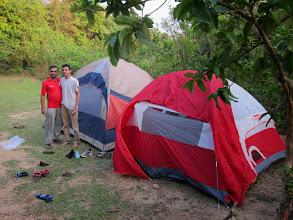 Photo: Finally near Bhattara Mane. Exhausted.. But carrying camps finally made sense.