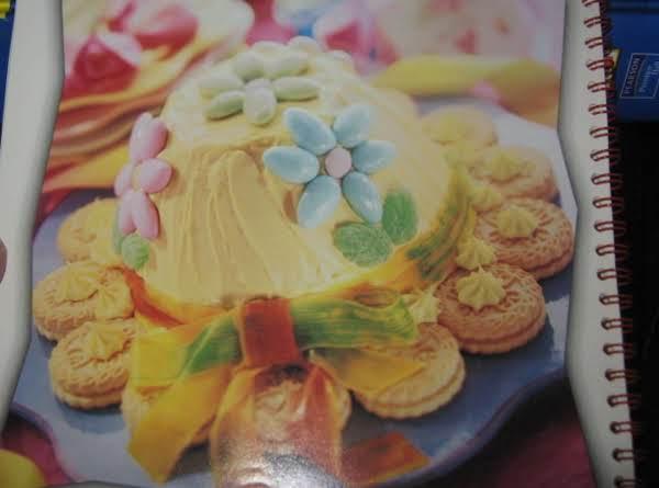 Pampered Chef's Spring Bonnet Cake