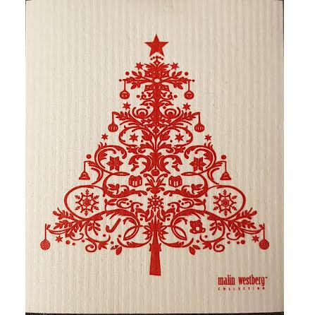 Disktrasa Christmas Tree Röd
