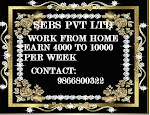 are you interested part time job and home based works