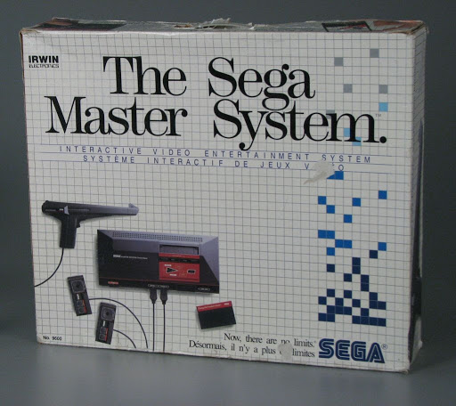Video game console:The Sega Master System