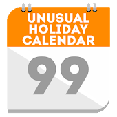 Unusual holiday calendar