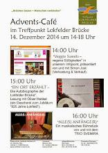 Photo: Die offizielle Website für diese Veranstaltung auf unserer Homepage:  http://lokfelderbruecke.travetraum.de/advents-cafe-2014/