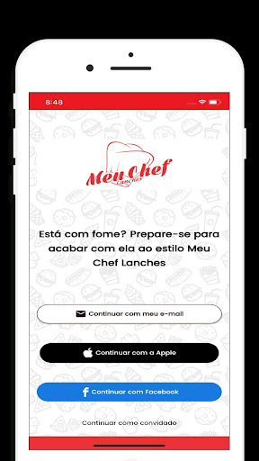 Meu Chef Lanches: Delivery screenshot 1