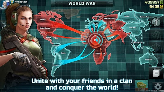 Art of War 3: PvP RTS modern warfare strategy game Apk Download For Android and Iphone 7