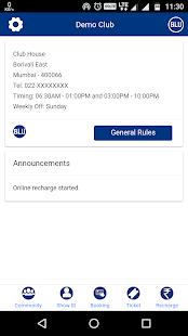 Blu Club Privilege App - náhled