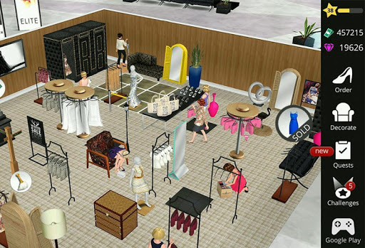 Fashion Empire - Boutique Sim (Mod)