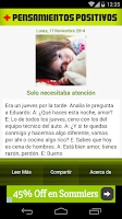 Screenshot of Pensamientos Positivos