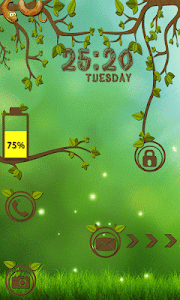 Forest Go Locker Theme screenshot 1