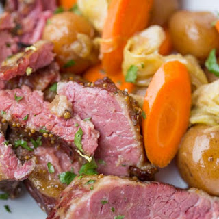 Slow Cooker Corned Beef Dinner.