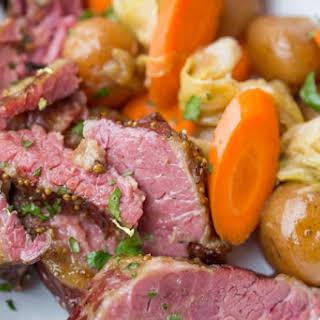 Slow Cooker Corned Beef Dinner.