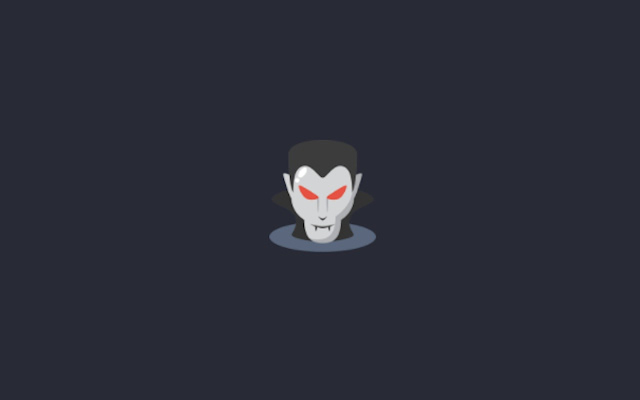 Dracula New Tab Page
