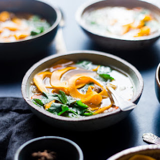 Thai Crock Pot Chicken Noodle Soup