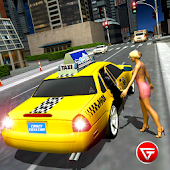 Crazy Taxi Car Driving Rush Racing 2018