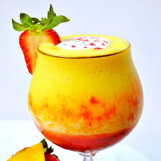 Pineapple Upside Down Cake Daiquiri.