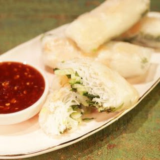 Shrimp Summer Rolls with Sweet Chili Sauce Recipe
