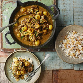 Nanny Woof's Banana Curry.