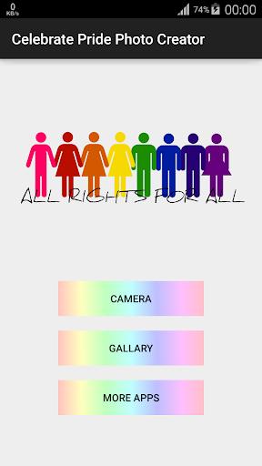 Celebrate Pride Photo Creator