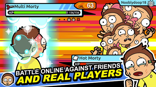 Rick and Morty: Pocket Mortys screenshots 2