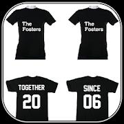 T Shirt Design Couple
