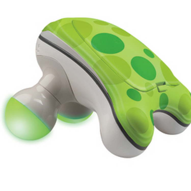 Froggy Touch Mini Massager - Green by Healthy World Lifestyle Sdn Bhd