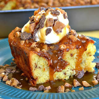 Gooey Caramel Cake.