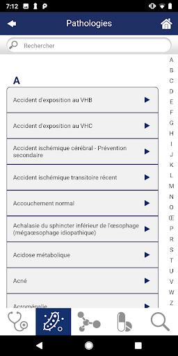 Guide de Thu00e9rapeutique 1.1.2 screenshots 4