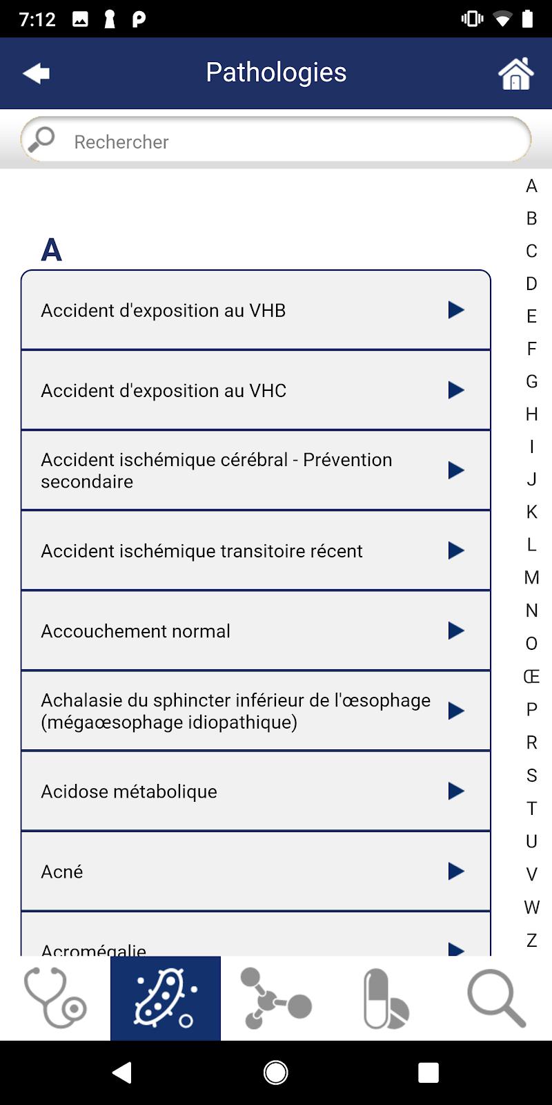 Guide de Thérapeutique Screenshot 3