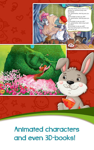 Azbooks - kid's fairy tales, songs, poems & games screenshot 10