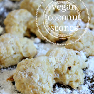 Vegan Coconut Scones {and some updates from Florida!}.