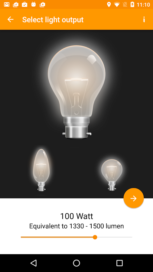 Light Bulb Saver- screenshot