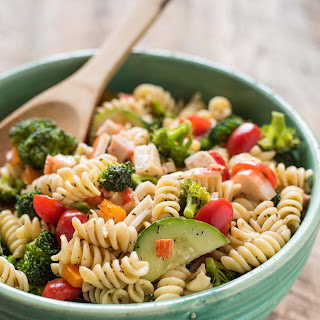 Greek Pasta Salad with Feta