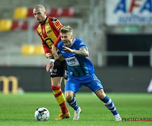 """Niklas Dorsch reste positif pour La Gantoise : """"Je vois une progression"""""""