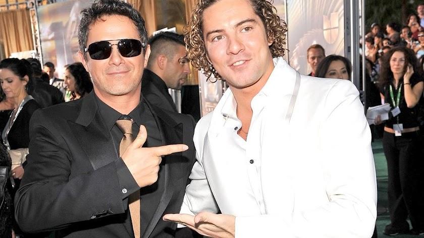 Alejandro Sanz y David Bisbal, en una imagen de archivo.