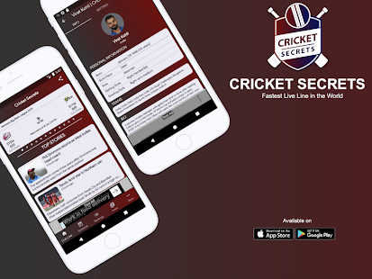 Download Cricket Secrets - Fast Live Line & Cricket Scores For PC Windows and Mac apk screenshot 1