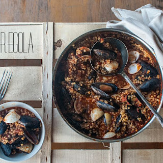 Fregola Sarda With Mussels And Clams.