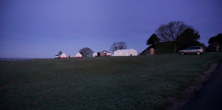 Photo: 5:00 AM MAYDAY OLD SARUM ,  THE ROMANS IN THEIR TENTS ASLEEP ARE BEING INVADED