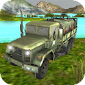 Offroad Truck driver 3D icon