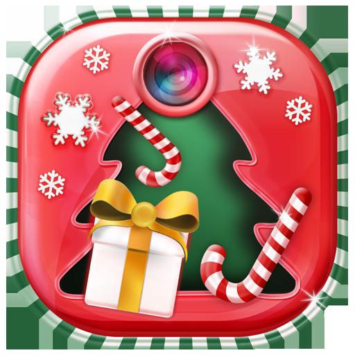 クリスマス フォトフレーム 娛樂 LOGO-玩APPs