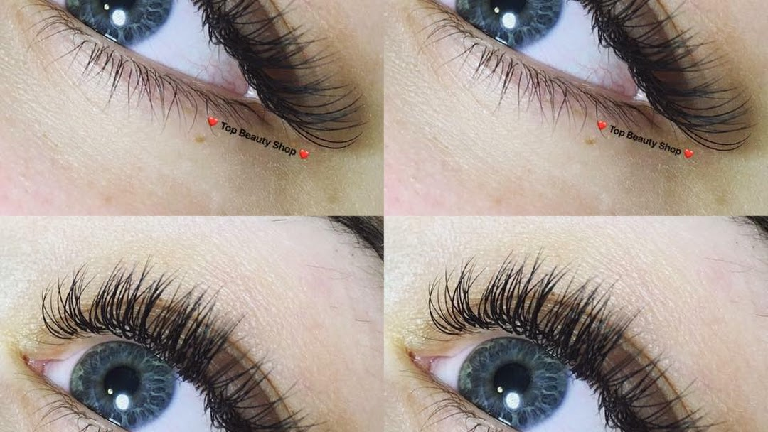 Top Beauty Shop Eyelash Extension Eyebrow Extension Waxing Tinting