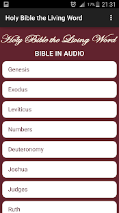 Holy Bible the Living Word- screenshot thumbnail