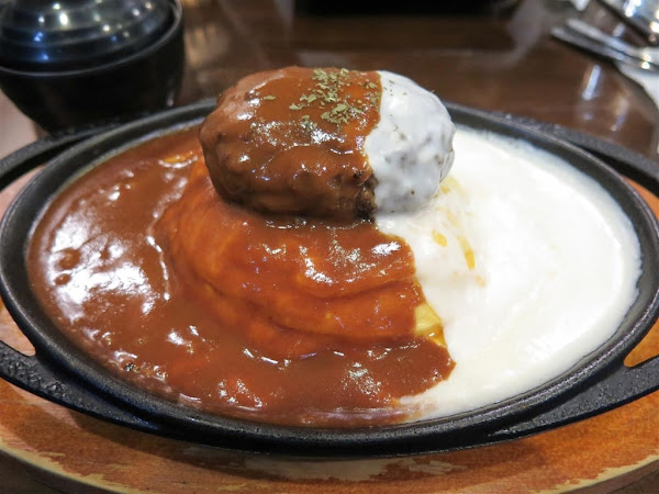 壹番堂日式洋食料理 -- 新推出加入菠菜和滿滿香濃起司的卜派花苞