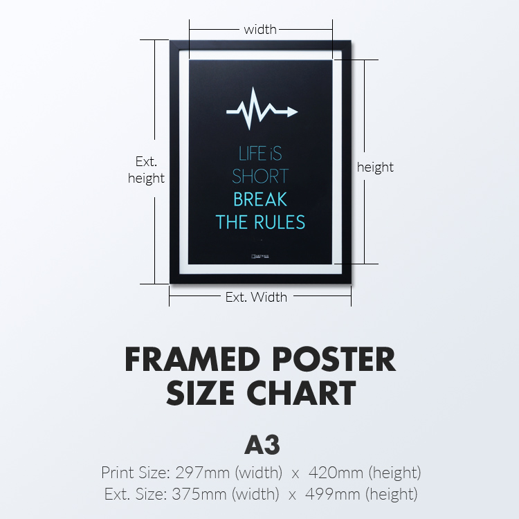 Always Free Yourself Here| Framed Poster
