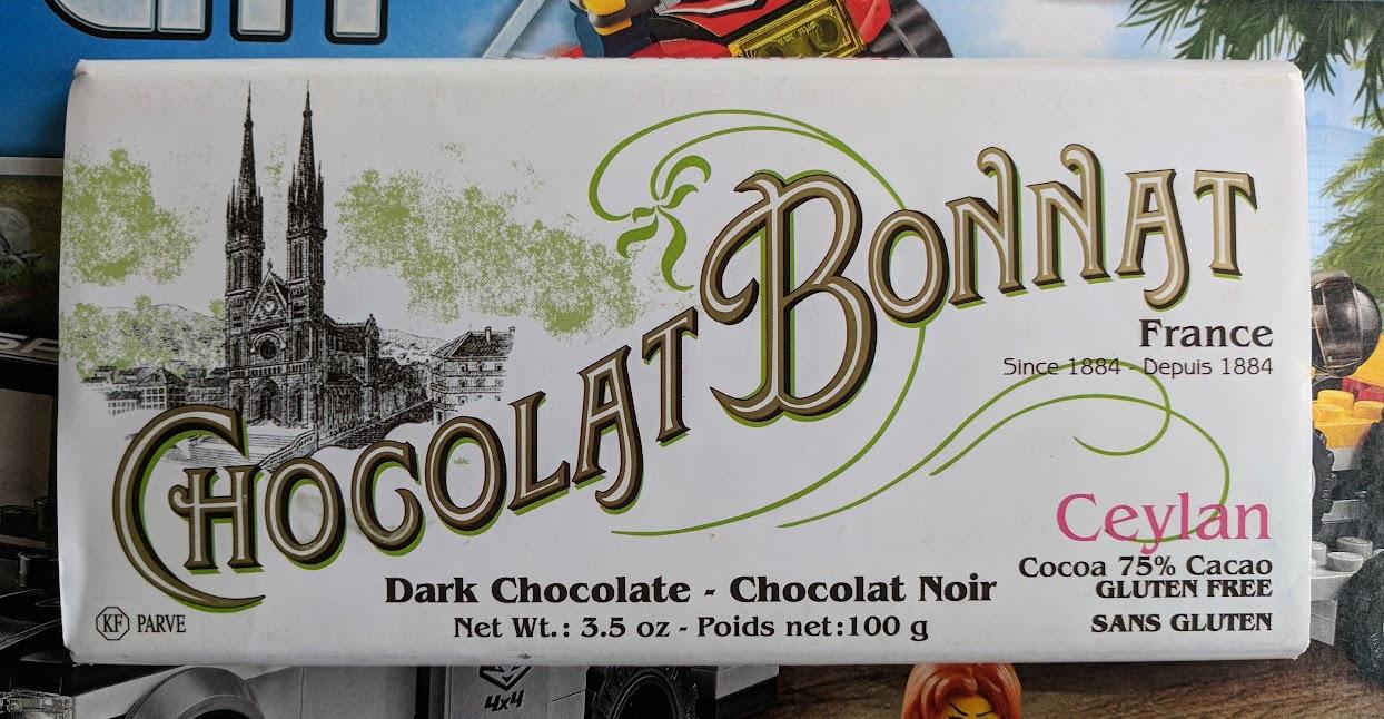 75% Chocolate bonnat bar