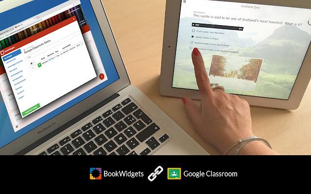 BookWidgets Google Classroom Integration