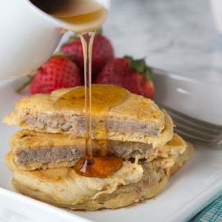 Sausage Pancakes.