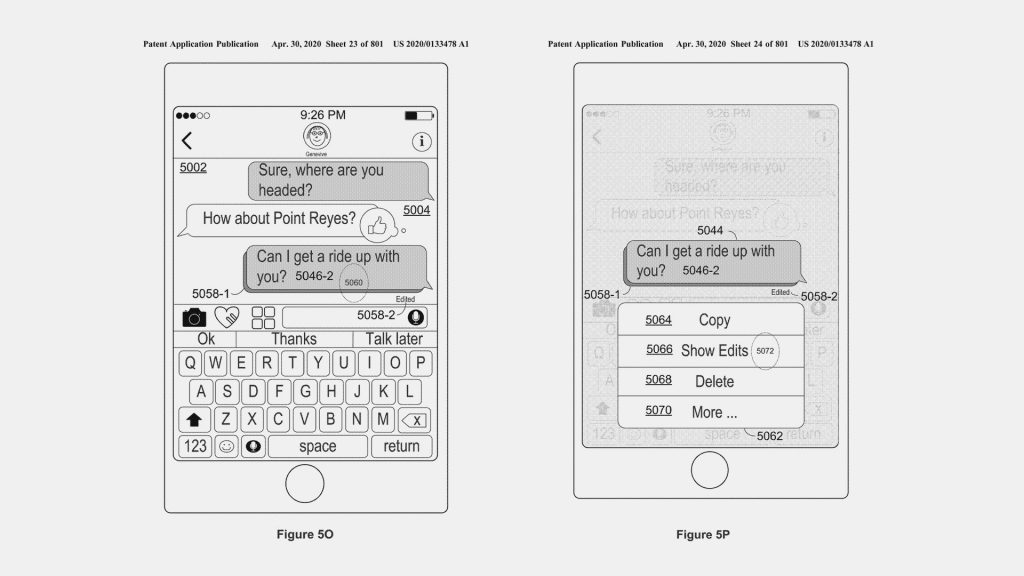 Apple sta lavorando alla modifica di messaggi inviati in iMessage