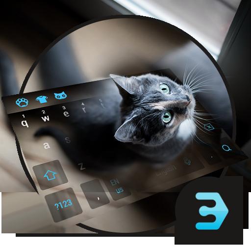 Cute cat lovely keyboard