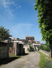 Photo: Crépy en Valois: le chemin de ronde, les remparts